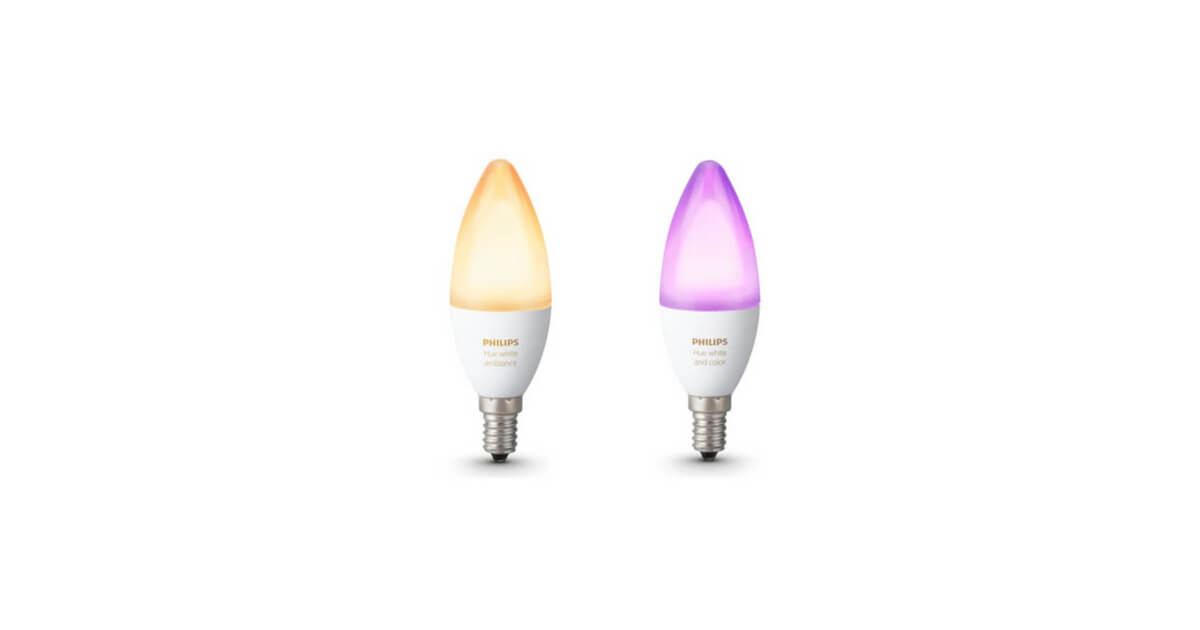 philips hue e14 lamp color white ambiance