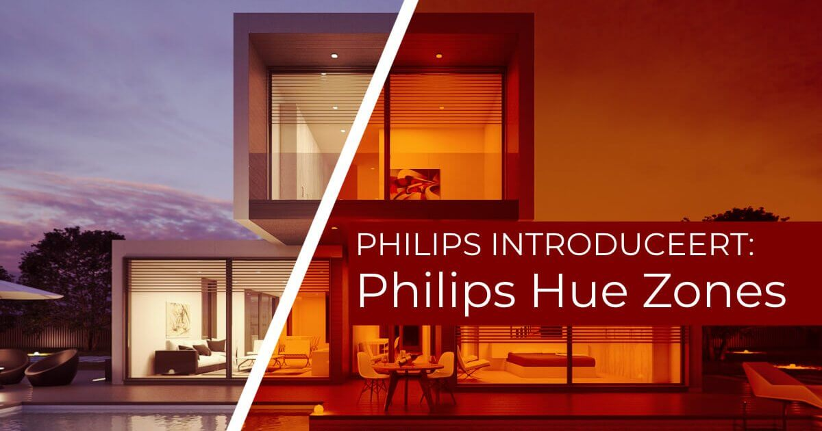 Philips hue zones nieuws