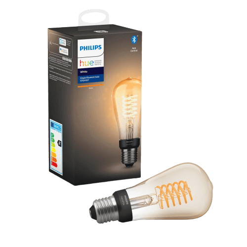 Philips hue filament edison lamp