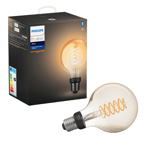 Philips hue filament globe lamp