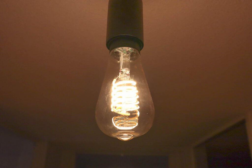 Philips hue filament edison plafond