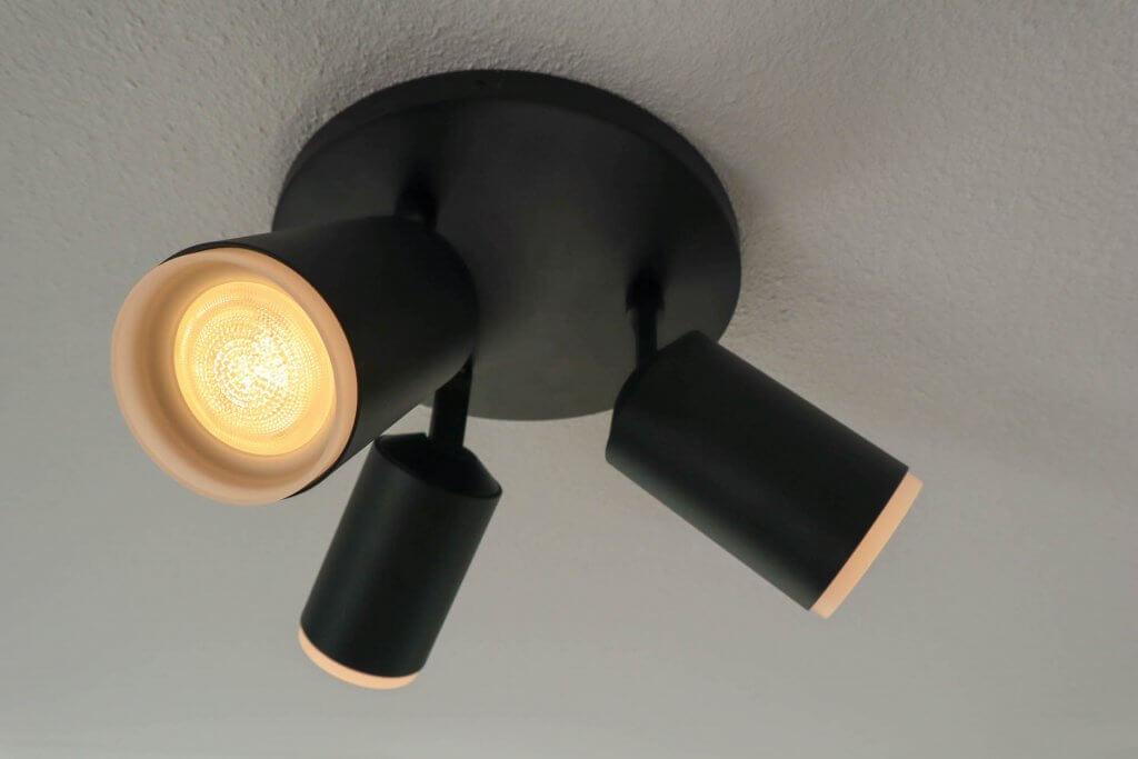 Philips hue lampen fugato plafond