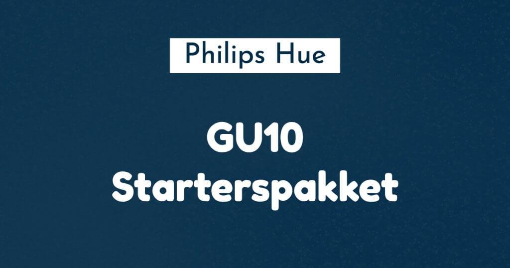philips hue GU10 starterspakket ban