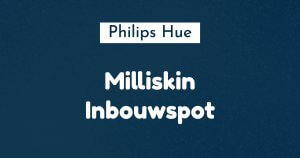 philips hue Milliskin inbouwspot ban