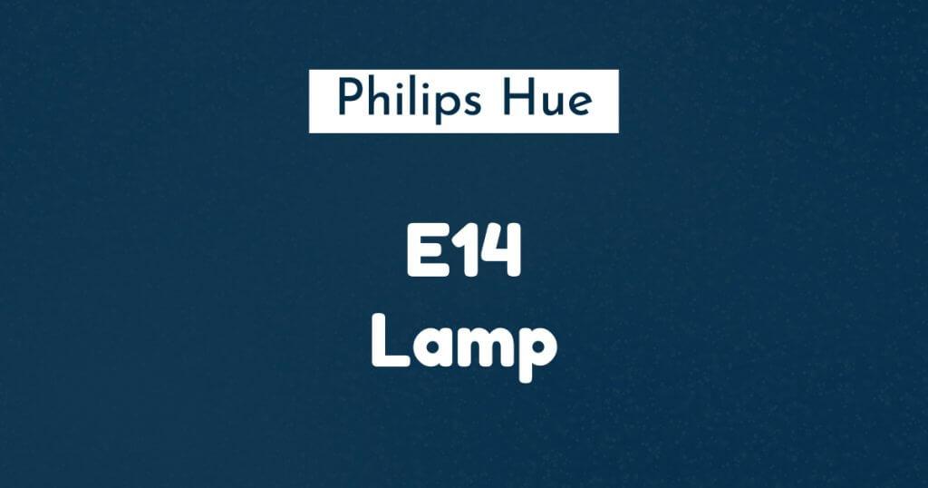 philips hue e14 lamp ban