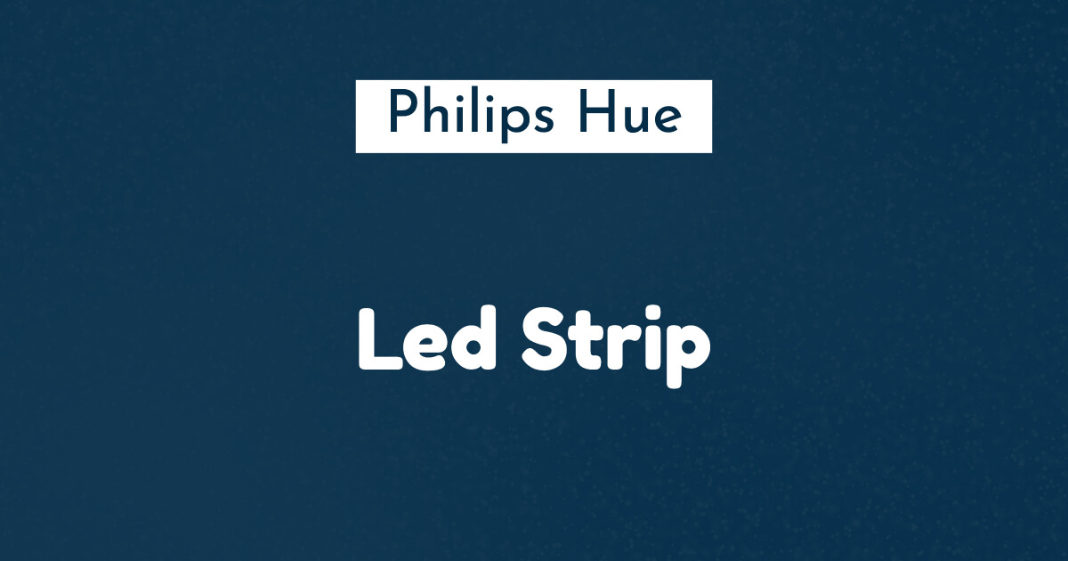 philips hue led strip ban