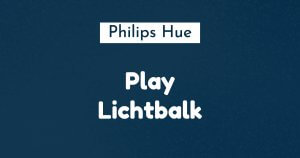 philips hue play lichtbalk ban