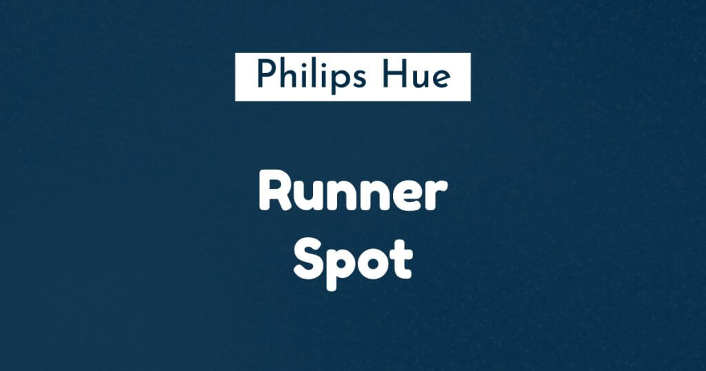philips hue runner spot ban