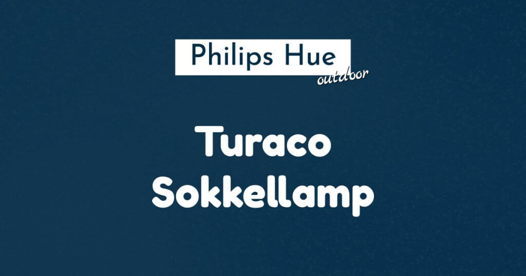 philips hue turaco sokkellamp