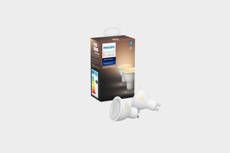 white ambiance GU10 duo-pack