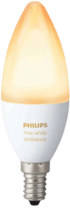 white ambiance e14 lamp