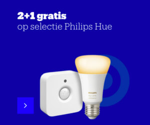 Philips hue aanbieding 2+1 actie