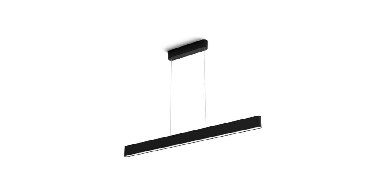 Philips hue ensis zwart hanglamp