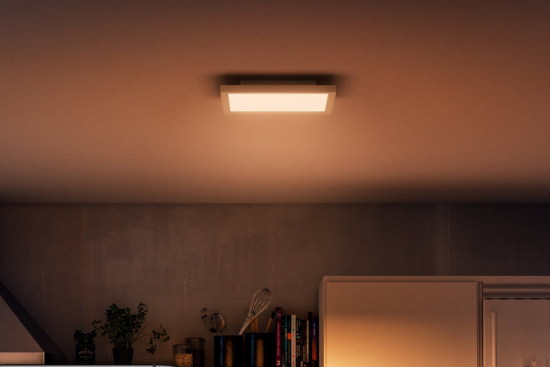 hue plafondlamp aurelle vierkant