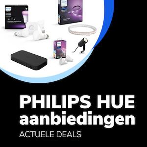 Philips hue aanbieding banner