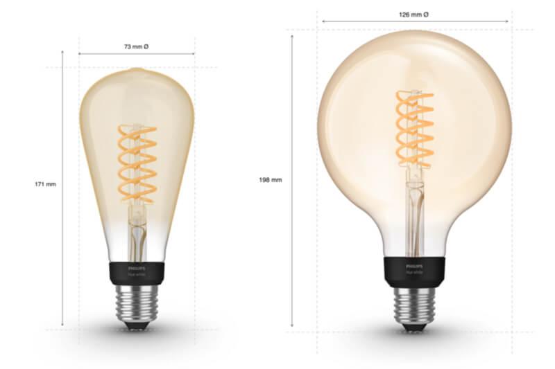 Philips hue edison globe xl filament