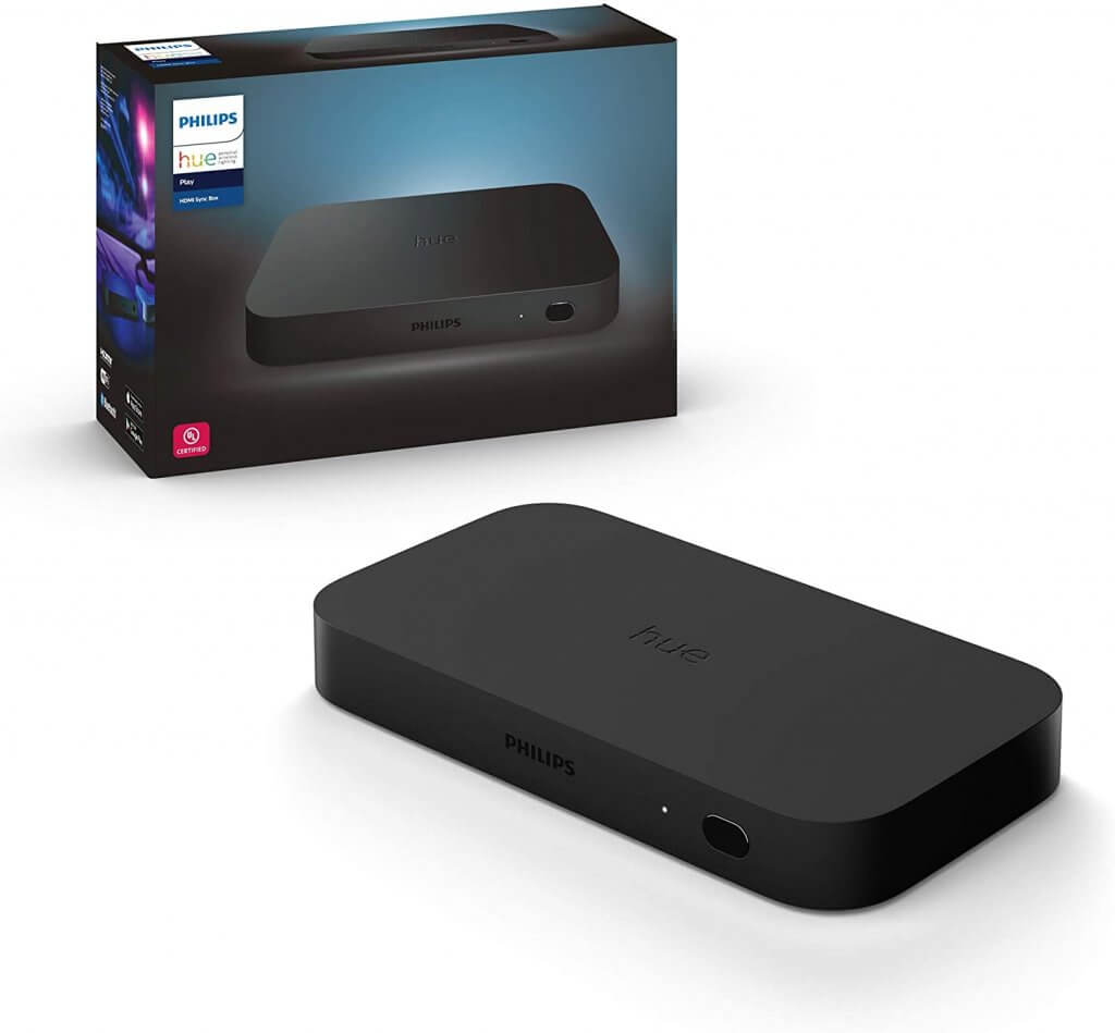 Philips hue play hdmi sync box aanbieding