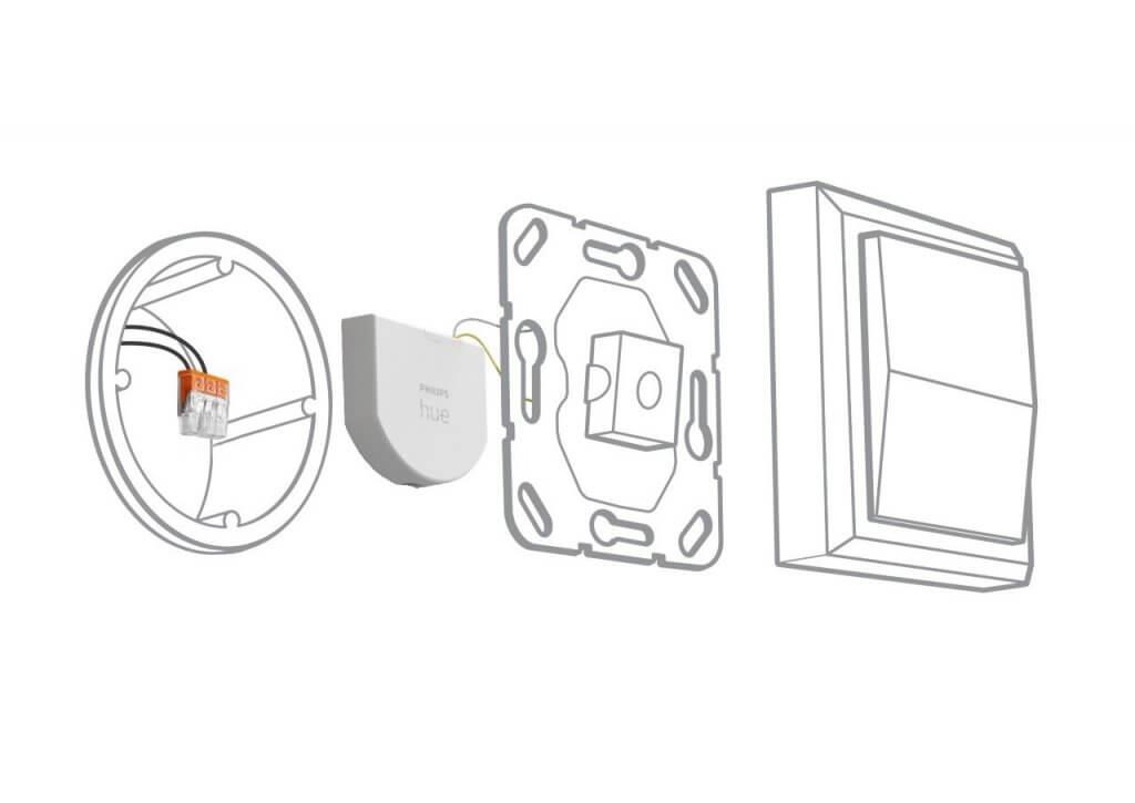 Philips hue wall switch module uitleg