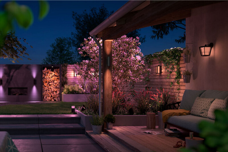 Philips hue outdoor tropical