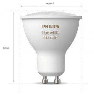 Philips hue gu10 color white ambiance