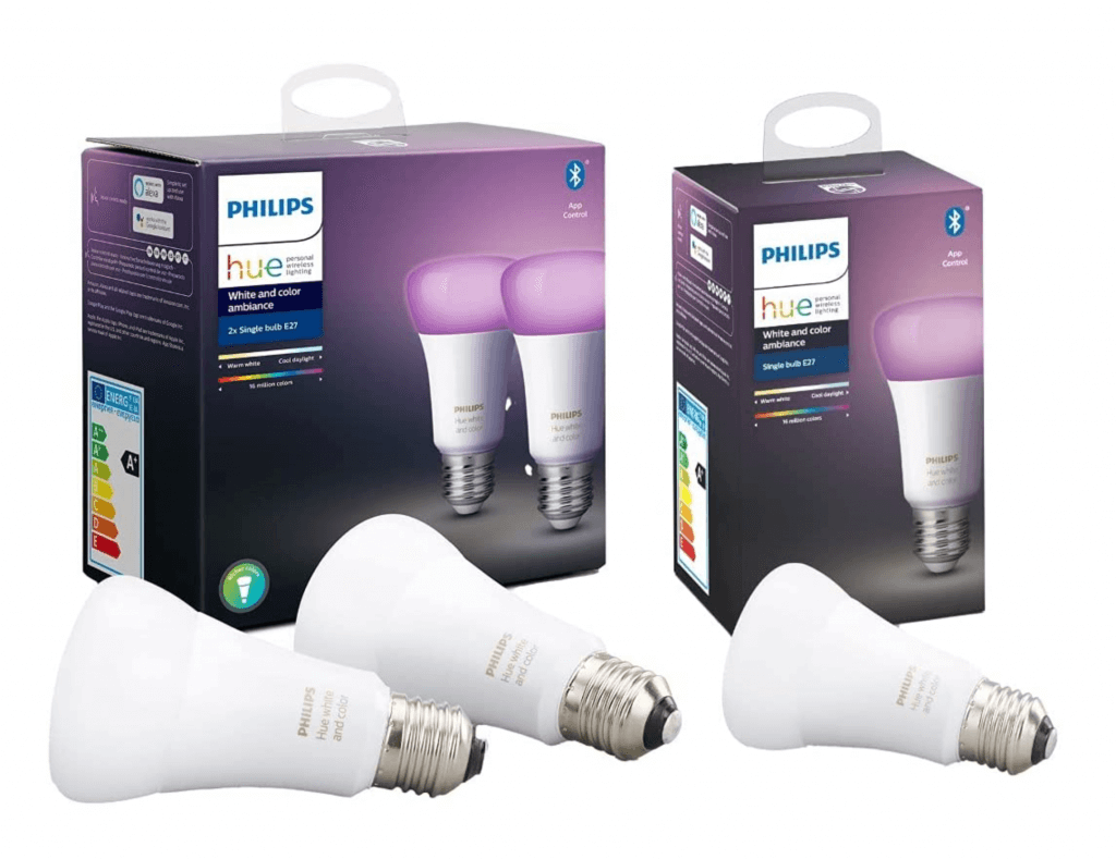 Philips hue color white ambiance lampen e27