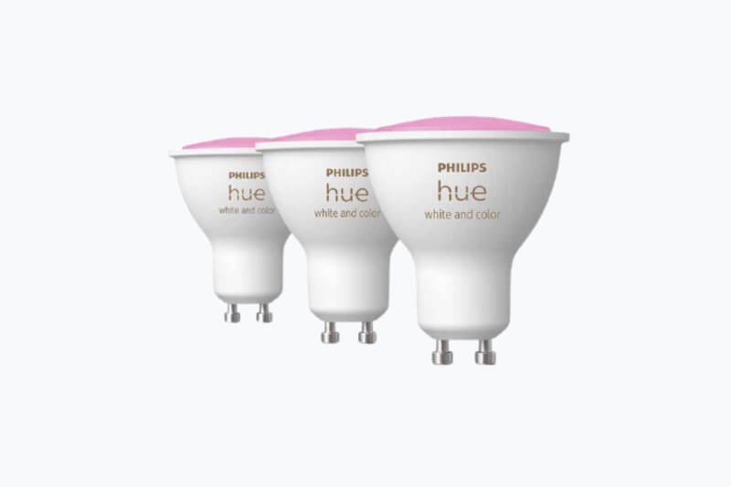 Philips hue gu10 spots color white ambiance